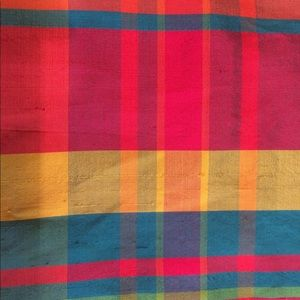 VTG Lauren by Ralph Lauren silk madras slipdress